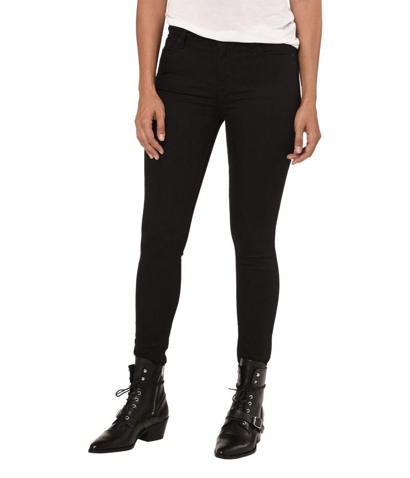 オールセインツ レディース デニムパンツ ボトムス Grace Jeans Jet Black