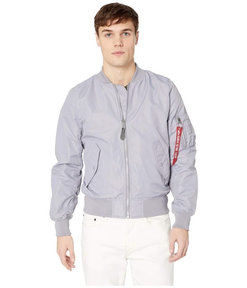 アルファインダストリーズ メンズ コート アウター L-2B Scout Jacket Cadet Gray