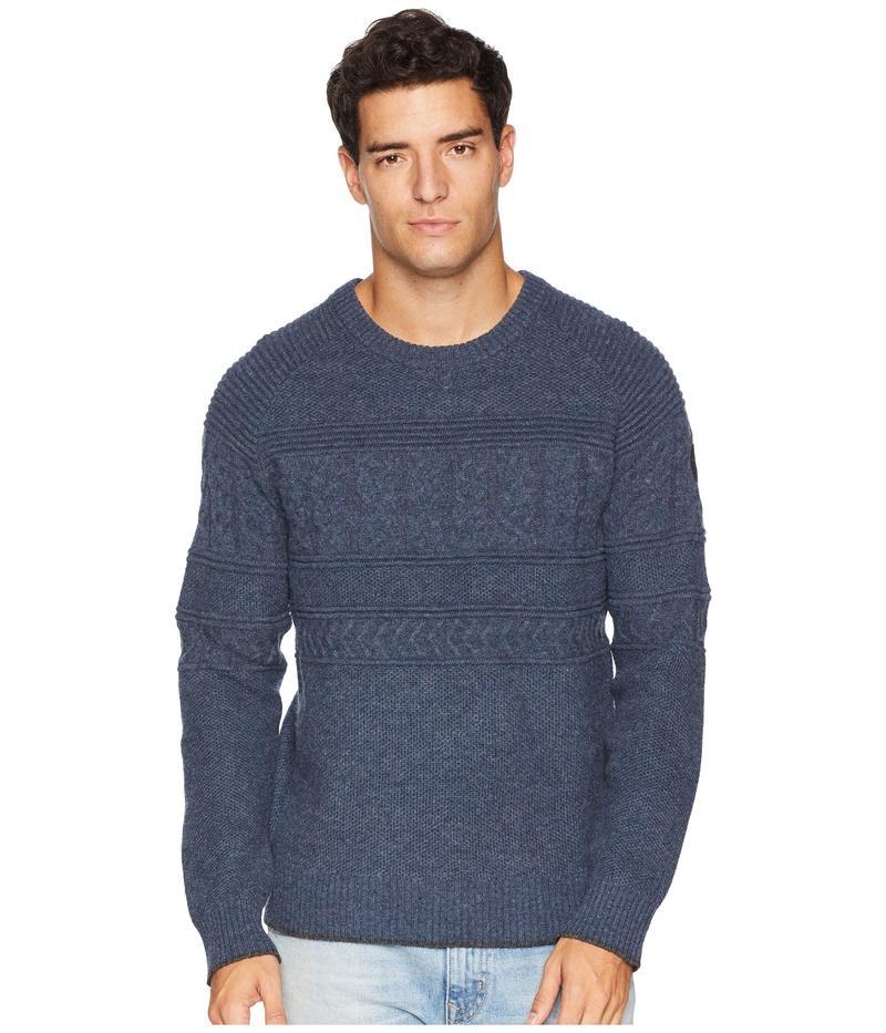 オバマイヤー メンズ ニット・セーター アウター Textured Crew Neck Sweater Trident