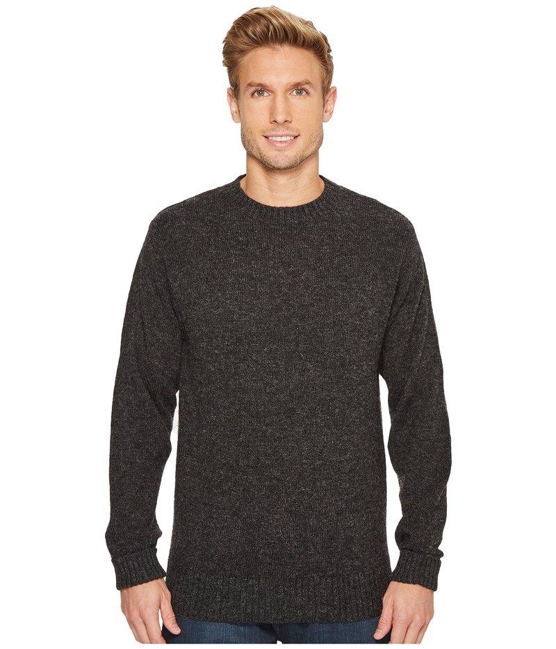 ペンドルトン メンズ ニット・セーター アウター Shetland Crew Sweater Black Heather