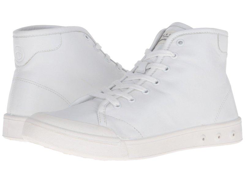 ラグアンドボーン メンズ スニーカー シューズ Standard Issue Leather High Top White