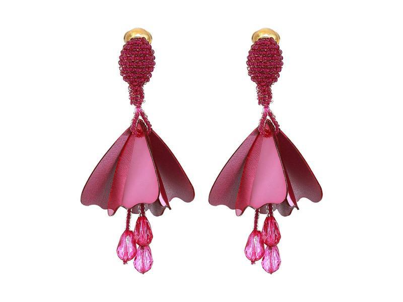 オスカー デ ラ レンタ レディース ピアス・イヤリング アクセサリー Small Impatiens Earrings Primrose