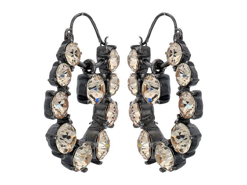 オスカー デ ラ レンタ レディース ピアス・イヤリング アクセサリー Runway Jewel Drop P Earrings Silk