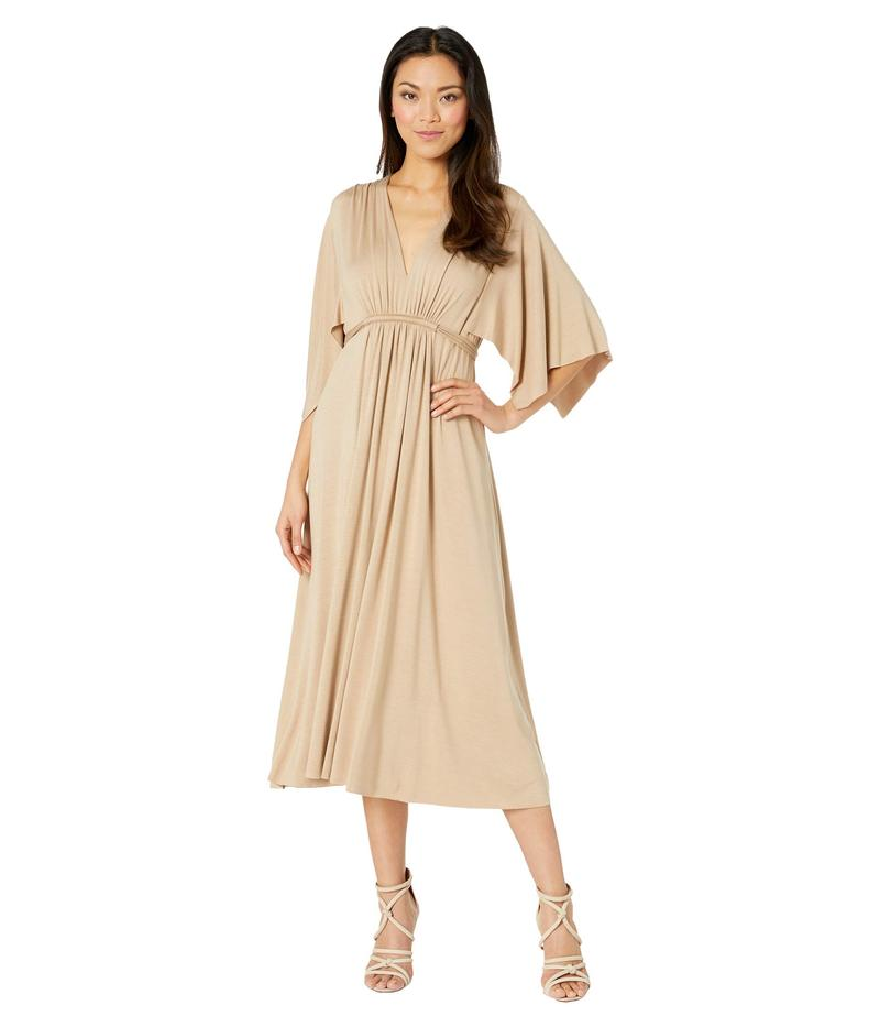 レイチェルパリー レディース ワンピース トップス Jersey Mid-Length Caftan Dress Toffee