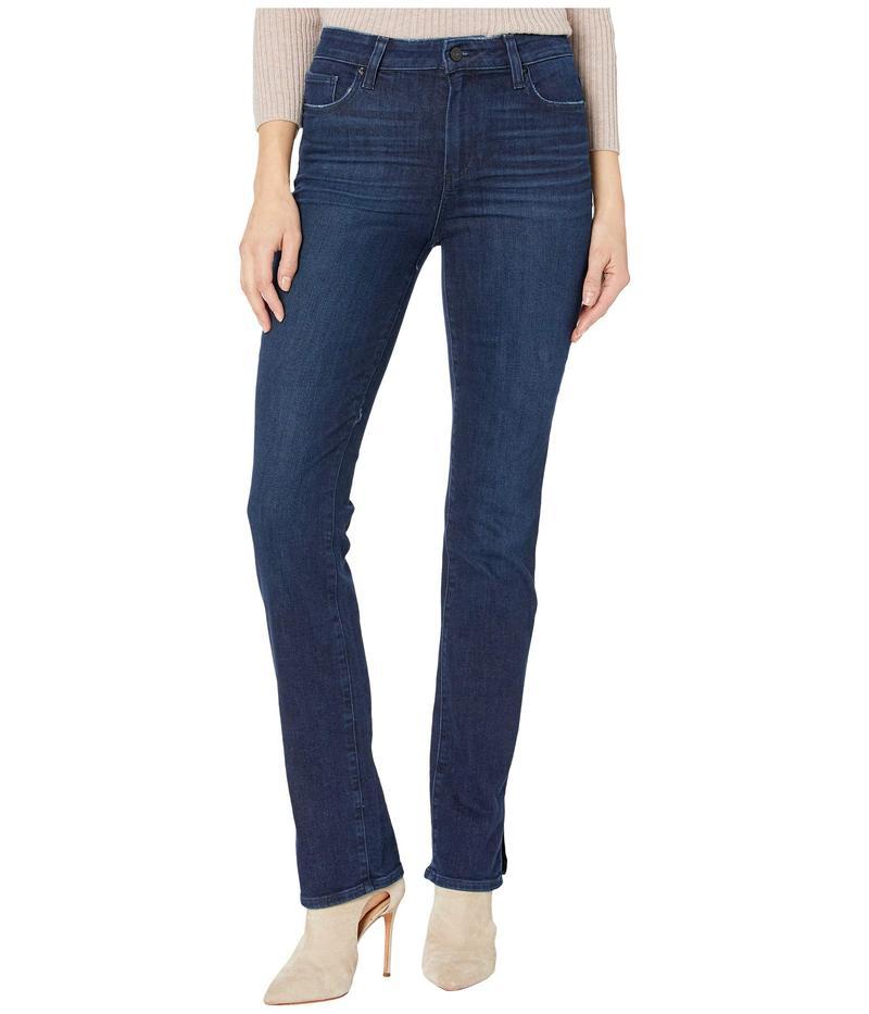ペイジ レディース デニムパンツ ボトムス Hoxton Straight Jeans w/ Outseam Slit in Jorah Jorah
