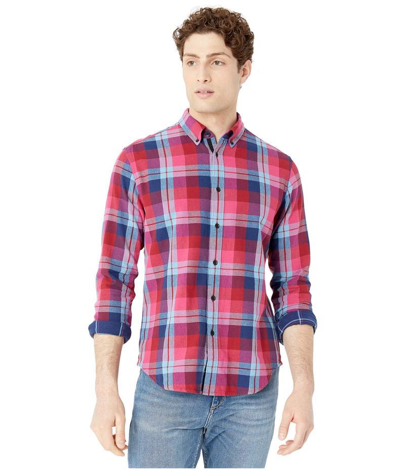 ラグアンドボーン メンズ シャツ トップス Fit 2 Tomlin Shirt Burgundy Multi
