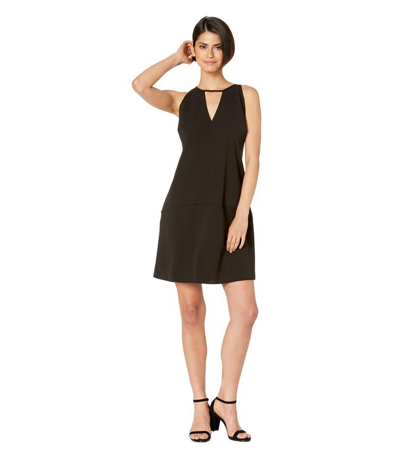 サムエデルマン レディース ワンピース トップス Crepe V-Neck Shift Dress Black