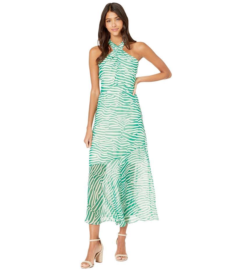 サムエデルマン レディース ワンピース トップス Stripe Graphic Maxi Dress Green/Ivory