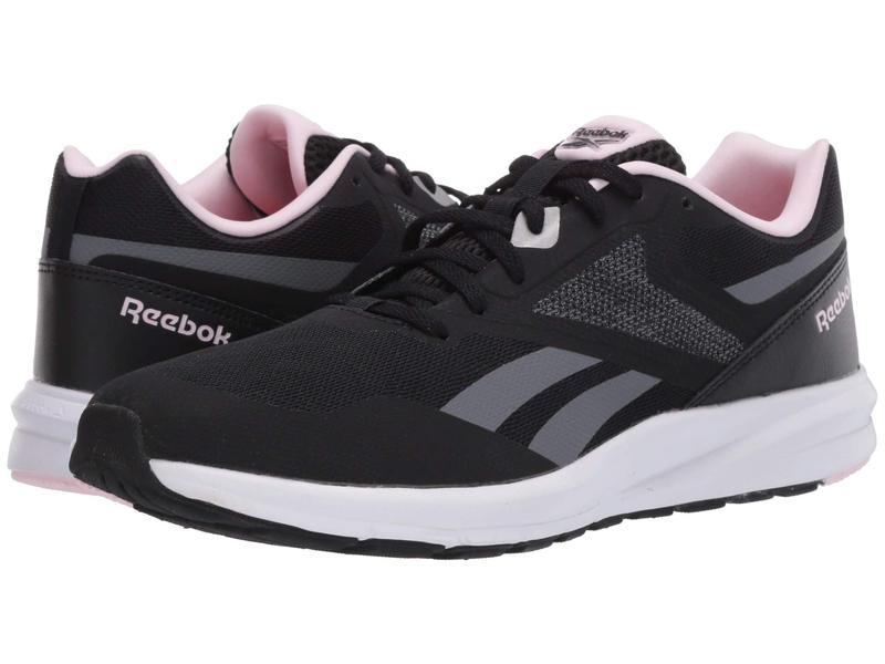 リーボック レディース スニーカー シューズ Runner 4.0 Black/Cold Grey/Pixel Pink