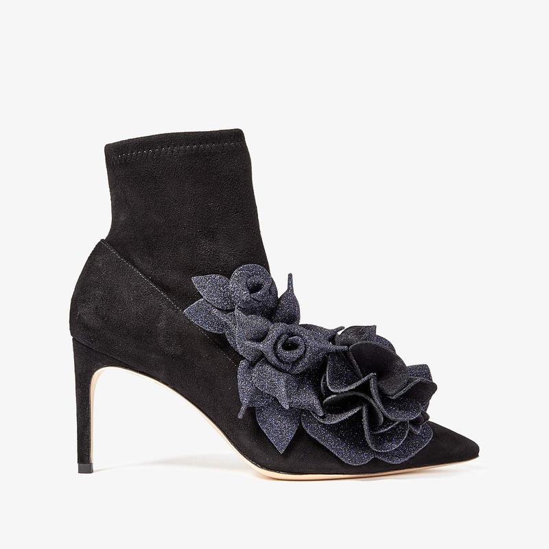 ソフィアウェブスター レディース ブーツ・レインブーツ シューズ Jumbo Lilico Mid Ankle Boot Black/Midnight