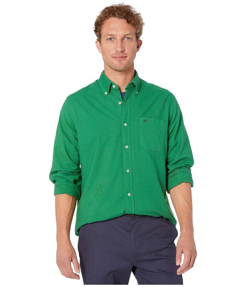 サウザーンタイド メンズ シャツ トップス Garment Dyed Oxford Sport Shirt Surf Green