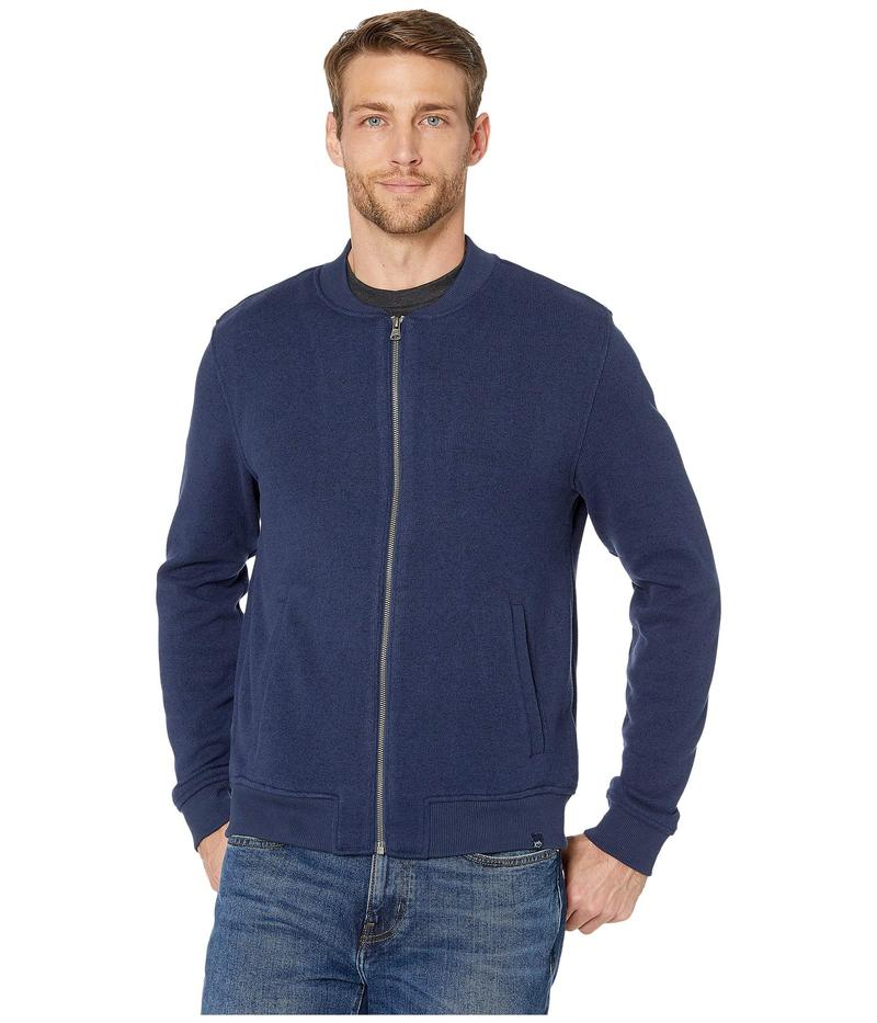 サウザーンタイド メンズ ニット・セーター アウター Samson Peak Sweater Fleece Bomber Jacket Heather True Navy