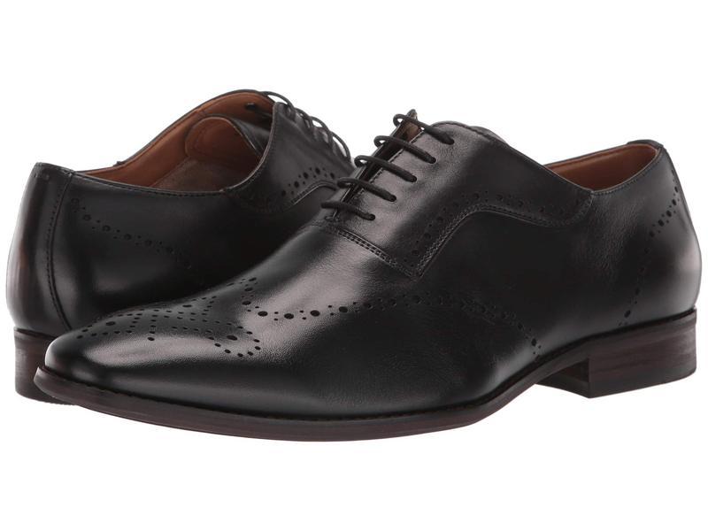スティーブ マデン メンズ オックスフォード シューズ Dimas Oxford Black Leather