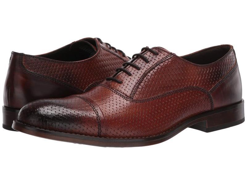スティーブ マデン メンズ オックスフォード シューズ Mantel Oxford Tan Leather