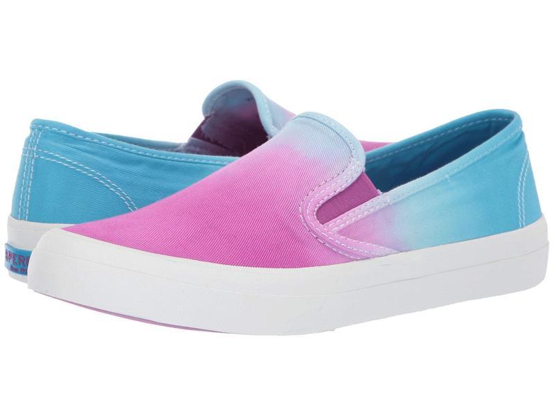 スペリー レディース スニーカー シューズ Seaside Dip-Dye Purple/Blue