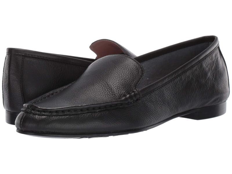 タリンローズ レディース スリッポン・ローファー シューズ Diana by Taryn Rose Collection Black Leather
