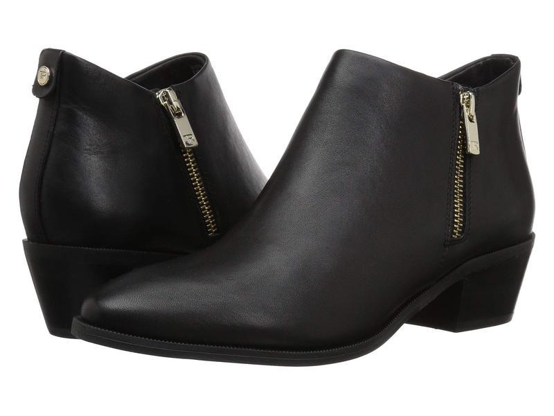 タリンローズ レディース ブーツ・レインブーツ シューズ Sabrina Black Luxe Leather