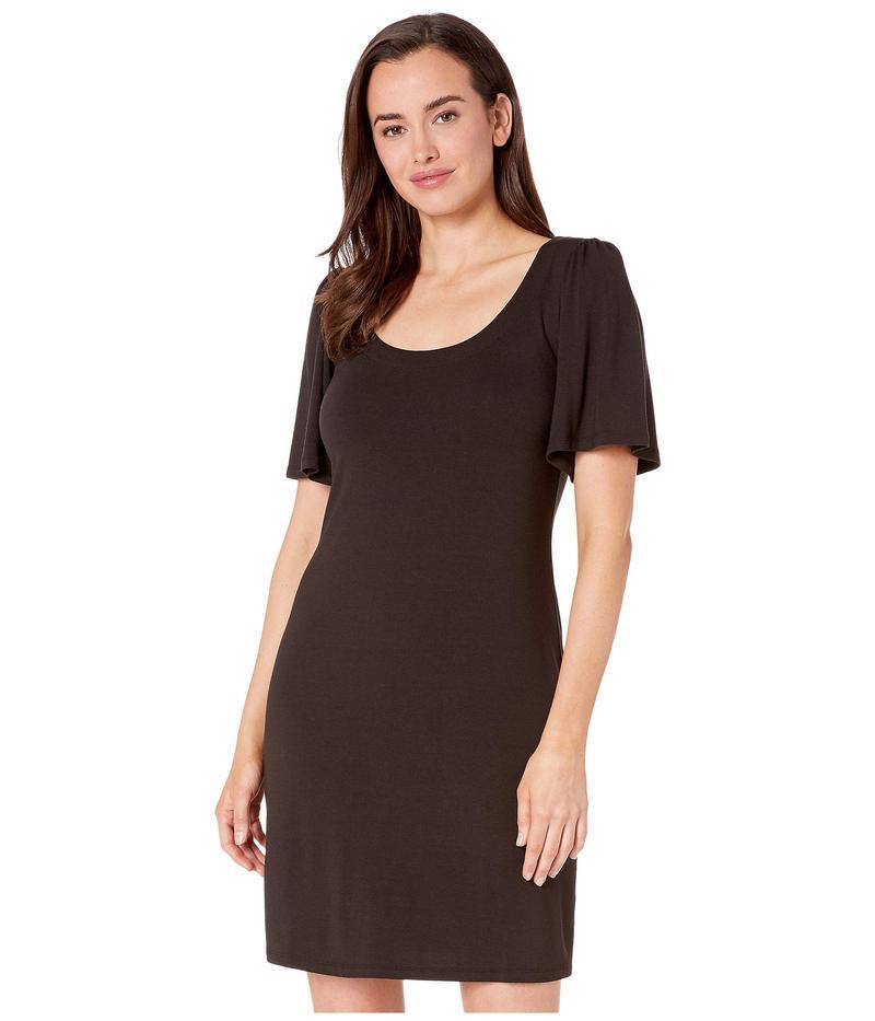 トッミーバハマ レディース ワンピース トップス Tambour Short Sleeve Short Dress Black