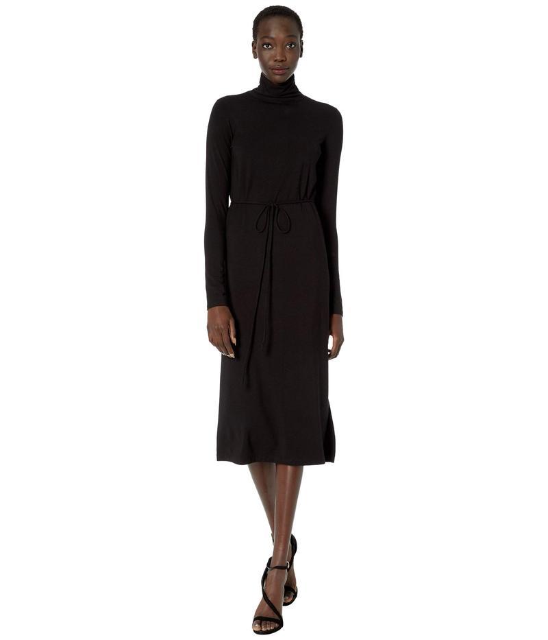 ヴィンス レディース ワンピース トップス Long Sleeve Turtleneck Dress Black