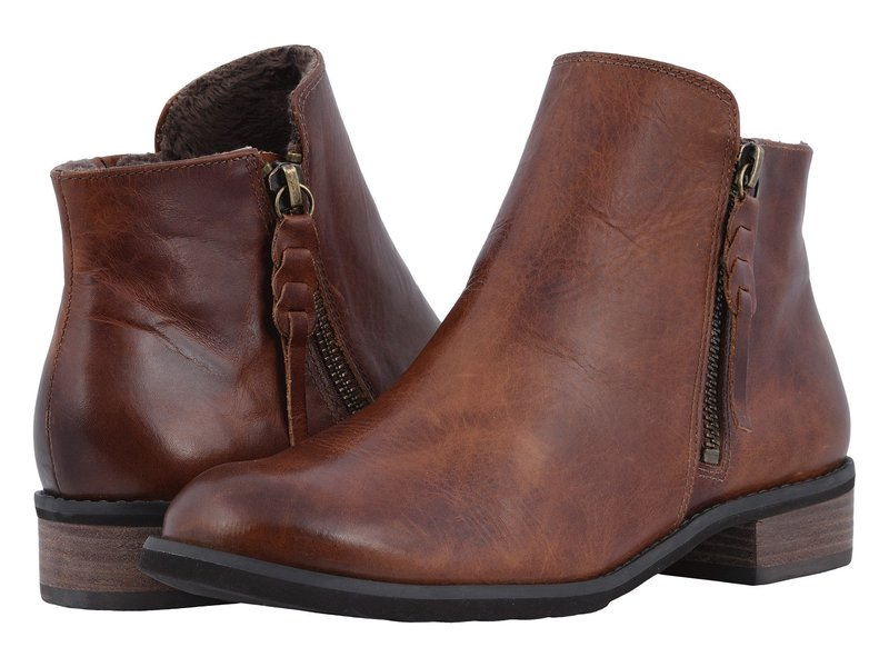 ウォーキング クレイドル レディース ブーツ・レインブーツ シューズ Kason Chestnut Rustic Leather