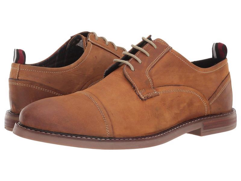 ベンシャーマン メンズ オックスフォード シューズ Birk Cap Toe Tan Leather II