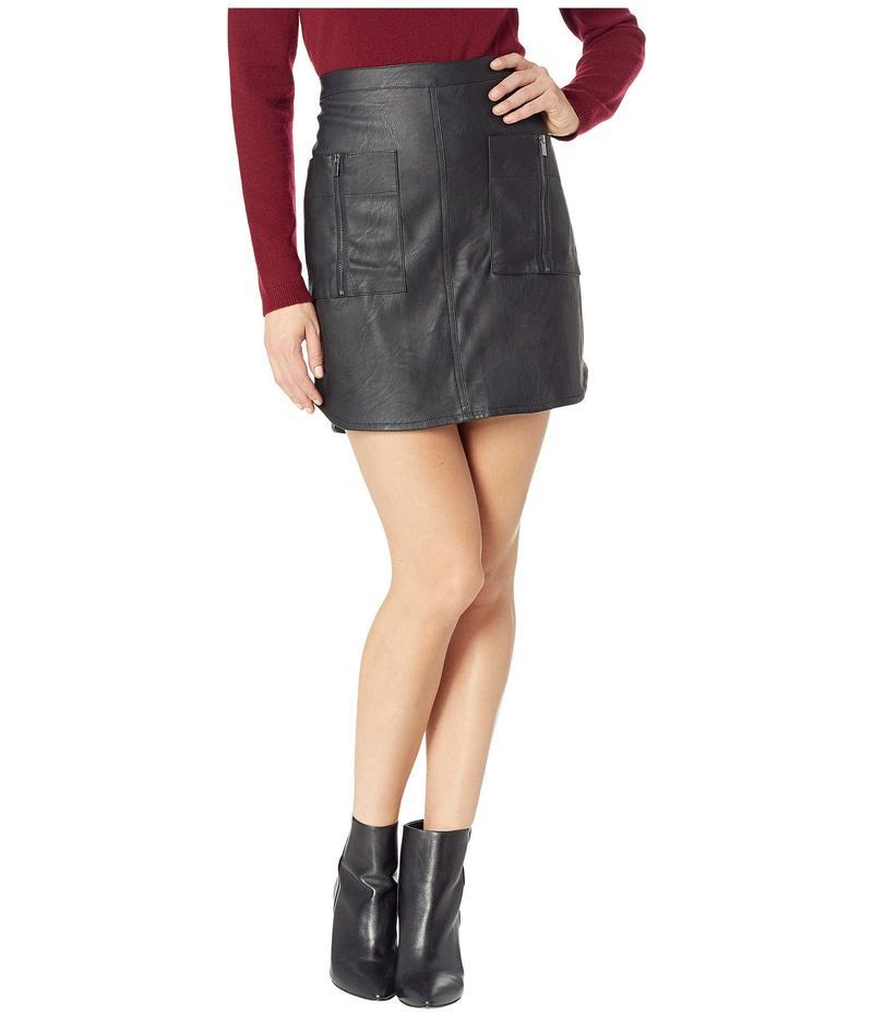 ビーシービージーマックスアズリア レディース スカート ボトムス Zip Pocket Skirt Black