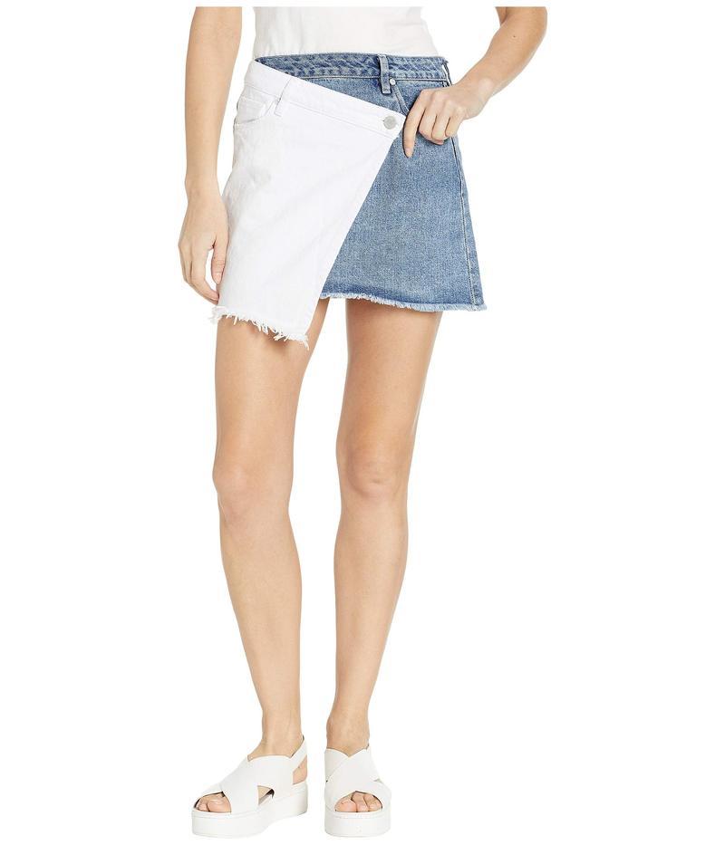 ブランクニューヨーク レディース スカート ボトムス Two-Tone Skirt in Side By Side Side By Side