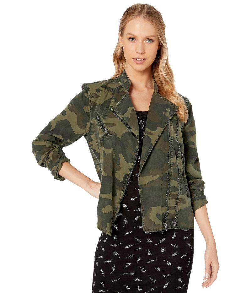 ブランクニューヨーク レディース コート アウター Camouflage Printed Tencel Lightweight Jacket On Duty