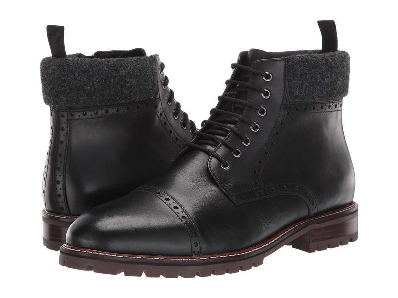 ブロンド メンズ ブーツ・レインブーツ シューズ Kylen Waterproof Black Leather
