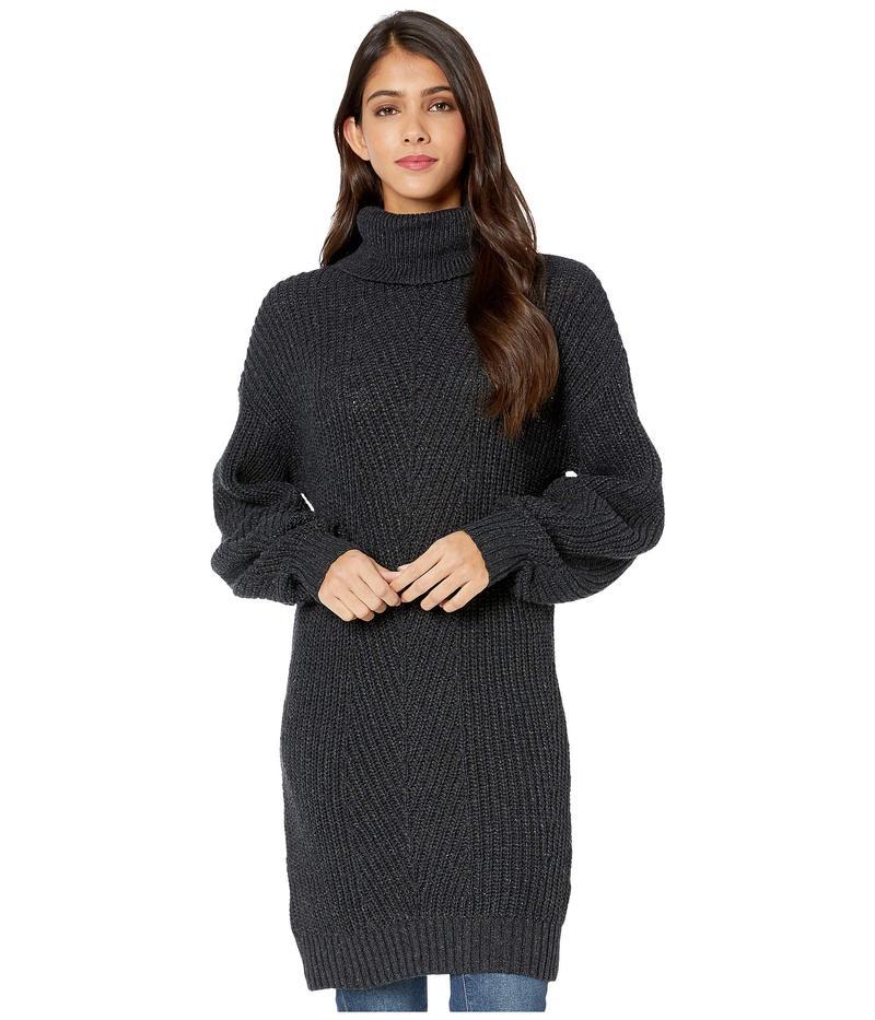 BCBジェネレーション レディース ニット・セーター アウター Long Sleeve Tunic Sweater TFB5251767 Charcoal