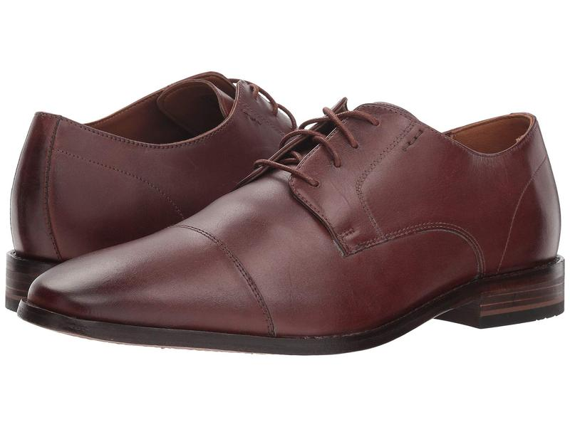 ボストニアン メンズ オックスフォード シューズ Nantasket Cap British Tan Leather
