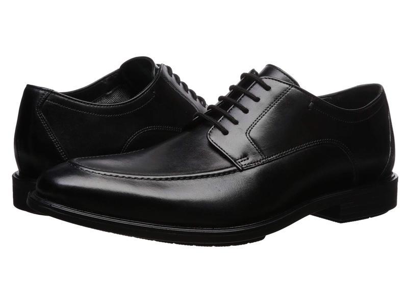 ボストニアン メンズ オックスフォード シューズ Hampshire Lace Black Leather
