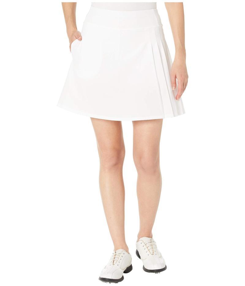 キャラウェイ レディース スカート ボトムス Side Pleat Skort Brilliant White