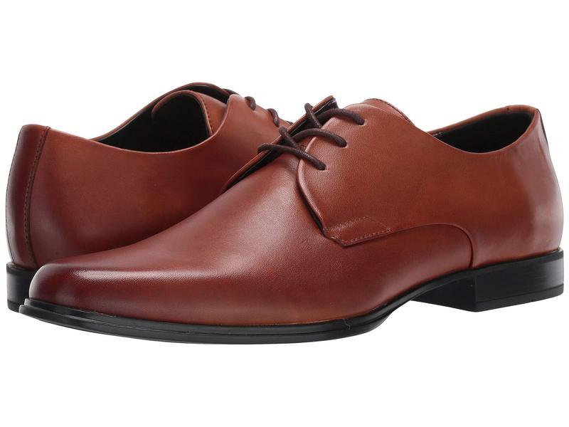 カルバンクライン メンズ オックスフォード シューズ Dillinger Tan Crust Leather