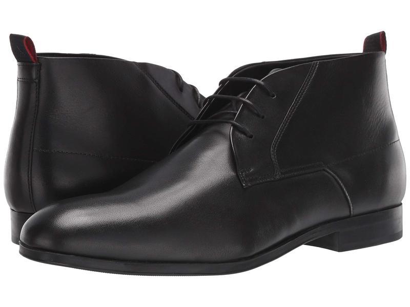 ヒューゴボス メンズ ブーツ・レインブーツ シューズ Boheme Dessert Boot Black