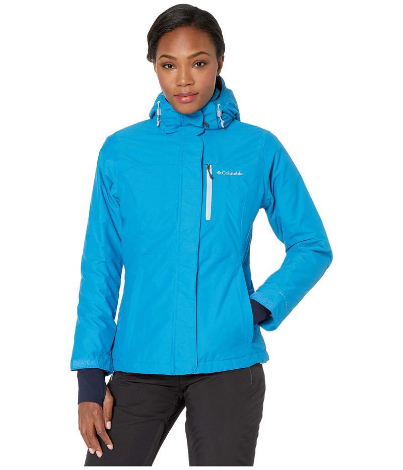 コロンビア レディース コート アウター Alpine Action¢ Omni-Heat¢ Jacket Fathom Blue