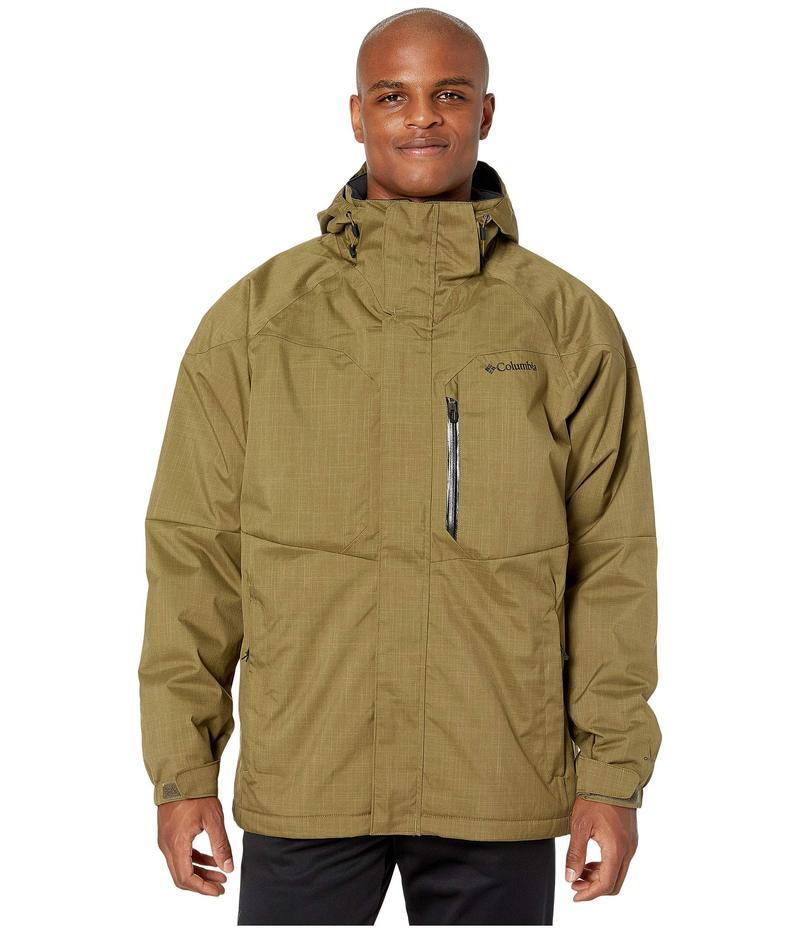 コロンビア メンズ コート アウター Alpine Action¢ Jacket Olive Brown