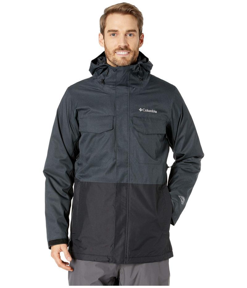 コロンビア メンズ コート アウター Cushman Crest¢ Interchange Jacket Charcoal Heather/Black/Shark