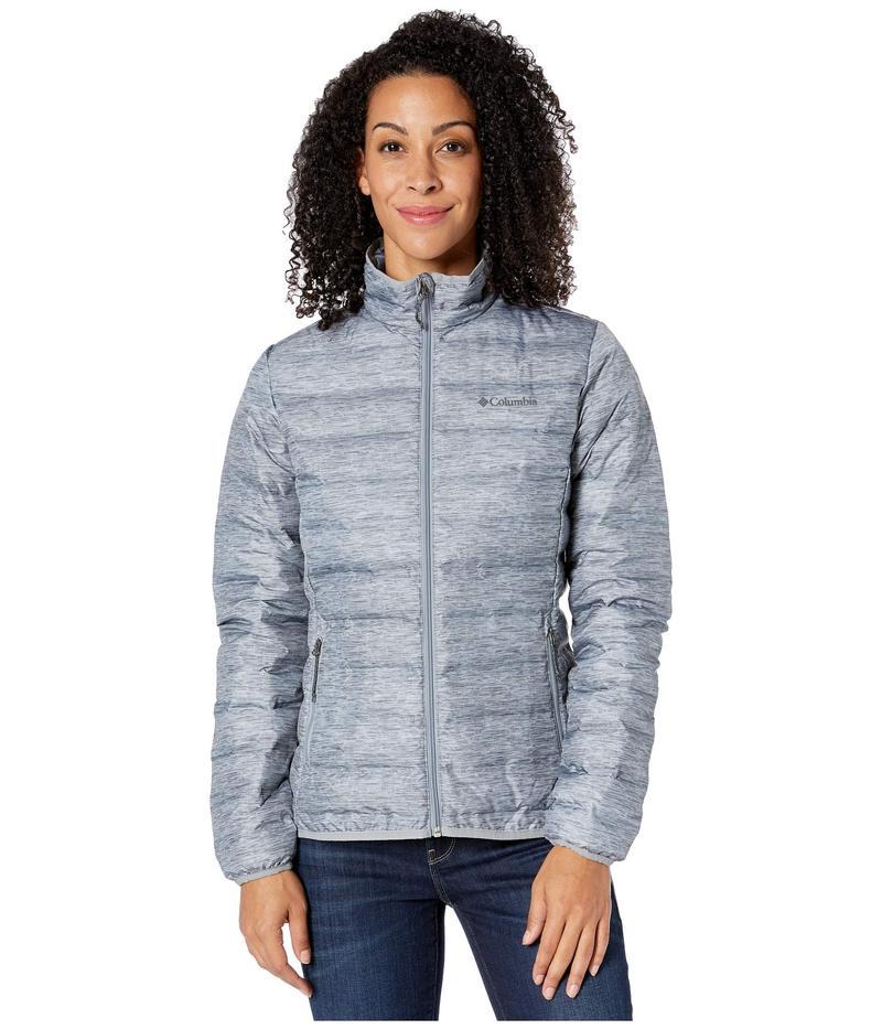 コロンビア レディース コート アウター Lake 22¢ Down Jacket Tradewinds Grey/Heather Print/Tradewinds Grey