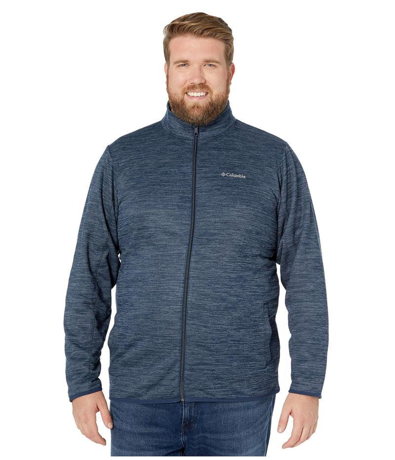 コロンビア メンズ コート アウター Big & Tall Birch Woods¢ II Full Zip Fleece Collegiate Navy/Graphite Heather