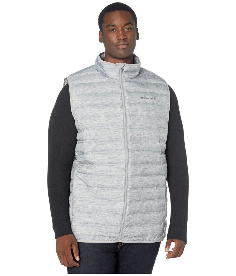 コロンビア メンズ コート アウター Big & Tall Lake 22¢ Down Vest Columbia Grey Heather Print