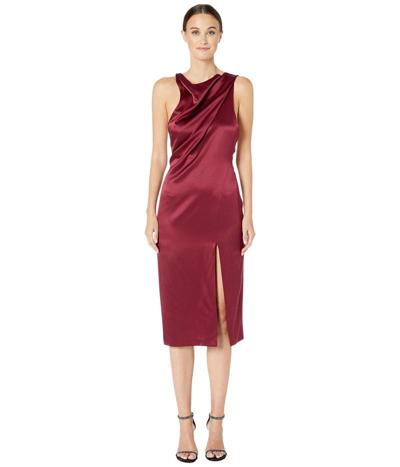 クシュニーエオクス レディース ワンピース トップス High Neck Sleeveless Dress with Front Slit Burnt Sienna