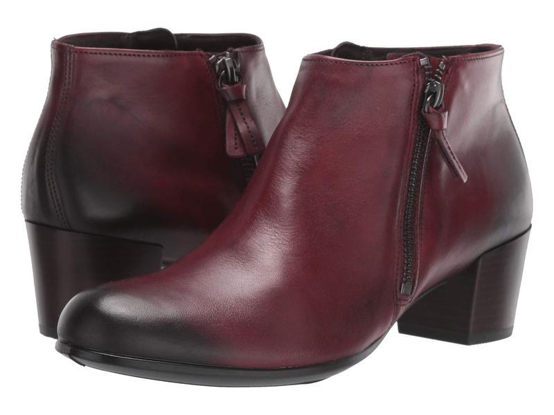エコー レディース ブーツ・レインブーツ シューズ Shape M 35 Ankle Boot Bordeaux