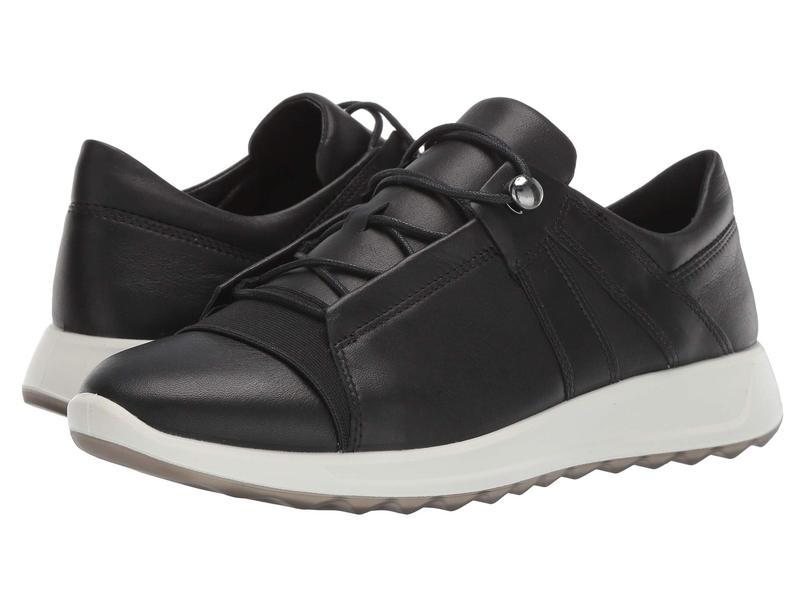 エコー レディース スニーカー シューズ Flexure Runner II Sneaker Black/Black
