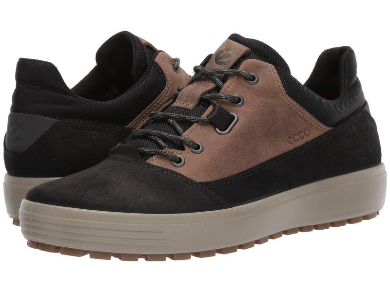 エコー メンズ スニーカー シューズ Soft 7 Tred Terrain Hydromax Low Black/Navajo Brown