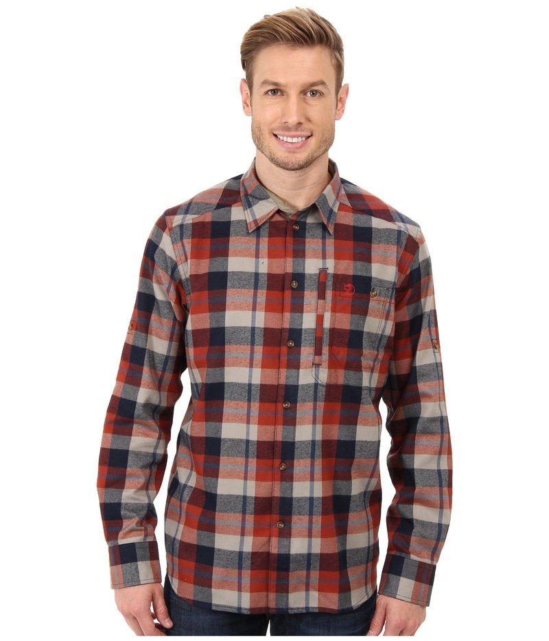 フェールラーベン メンズ シャツ トップス Fjallglim Shirt Autumn Leaf