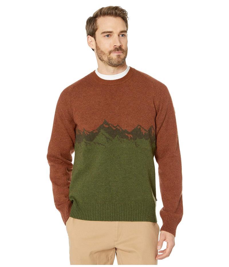 フェールラーベン メンズ ニット・セーター アウター Greenland Re-Wool View Sweater Autumn Leaf