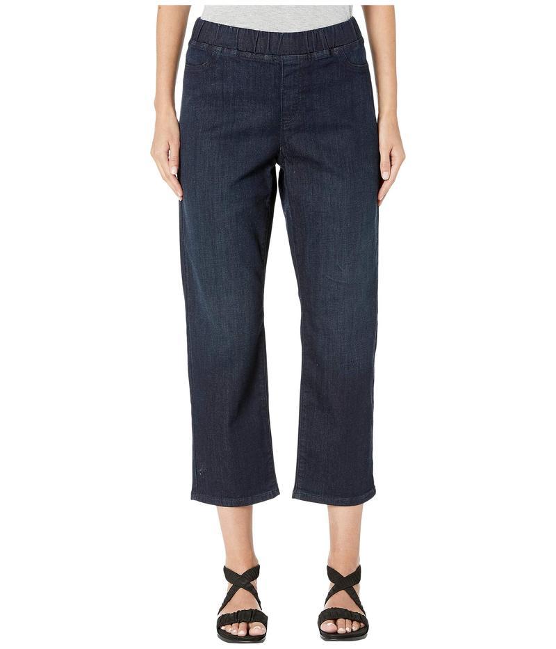 エイリーンフィッシャー レディース デニムパンツ ボトムス Organic Cotton Soft Stretch Denim Slim Jeans in Utility Blue Utility Blue