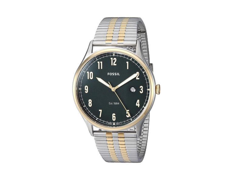 フォッシル メンズ 腕時計 アクセサリー Fossil Forrester Three-Hand Watch FS5596 Two-Tone Stainless Steel