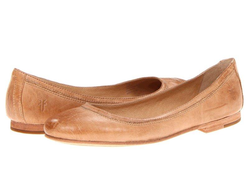 フライ レディース サンダル シューズ Carson Ballet Beige Antique Soft Vintage Full Grain